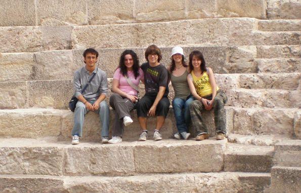 Nosotros cinco, los de siempre, en Segóbriga