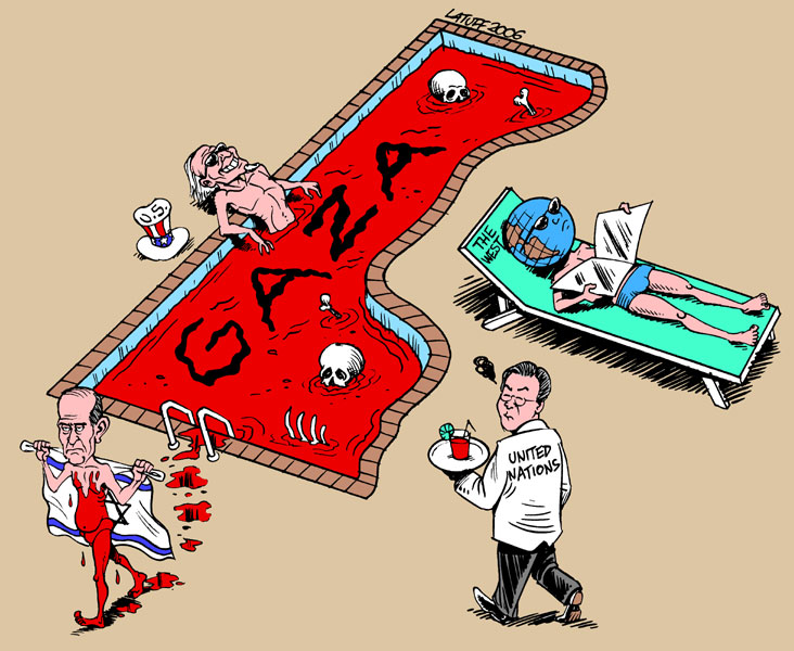 Acte públic d'Amnistia Internacional per exigir justícia internacional per a les víctimes de Gaza i sud d'Israel (19-02-11)