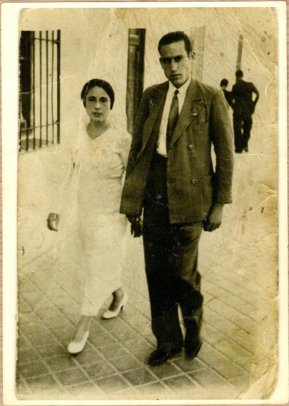 Mis bisabuelos (Encarna y Antonio) en torno a 1936