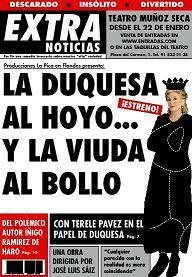 La Duquesa al hoyo... y la viuda al bollo