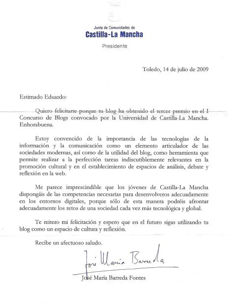 carta barreda