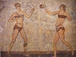 Juego de pelota. Villa romana de Casale (Sicilia