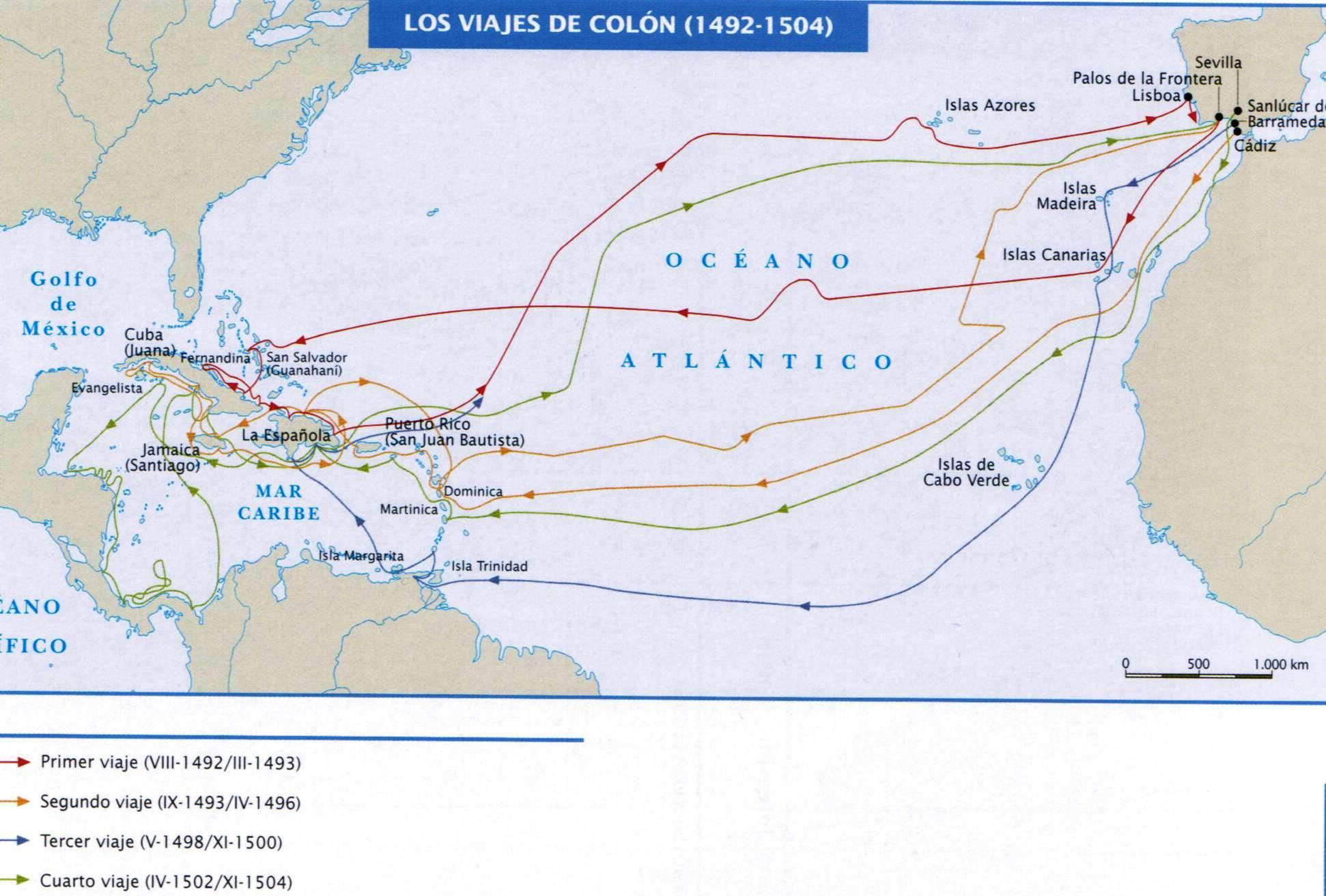 Trinidad historiadores hist ricos for Cuarto viaje de cristobal colon