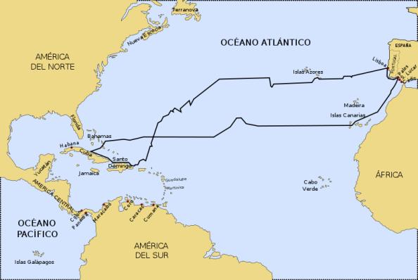 Primer viaje de Colón
