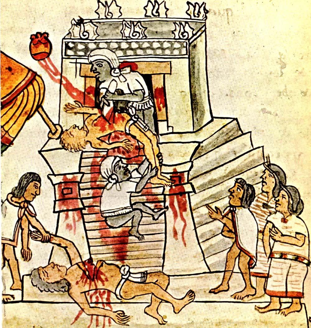Investigadora del INAH desmitifica sacrificio humano entre los mexicas