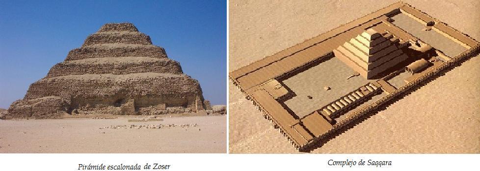 La pir mide de zoser restaurada al modo fara nico for Arquitectura del mundo antiguo