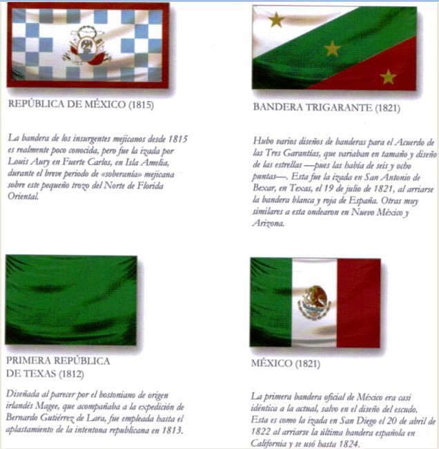 Historia de una bandera: México | Historiadores Histéricos