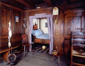 Stub alsaciana campesina. Fuente: Museo Alsaciano